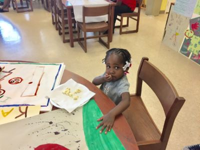 Youngest Chapman Art Student