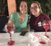 Valentine S Day Wine Glass Painting Party Artsouth